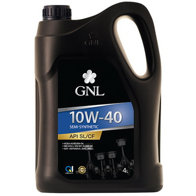 GNL Semi-Synthetic 10w-40 SL/CF